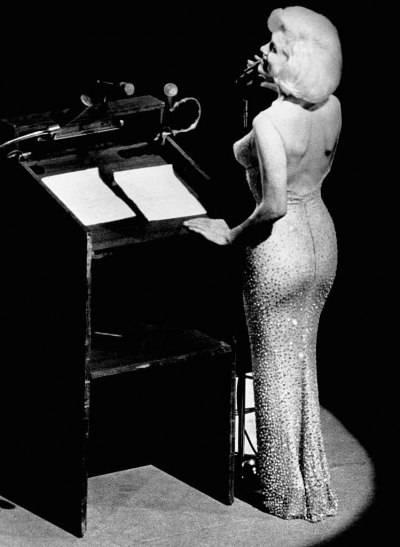 "EL  ""HAPPY BIRTHDAY Mr.PRESIDENT"" de  MARILYN  MONROE"